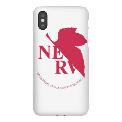 Nerv -evangelion Iphonex Case Designed By Wizarts