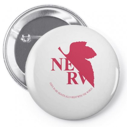 Nerv -evangelion Pin-back Button Designed By Wizarts