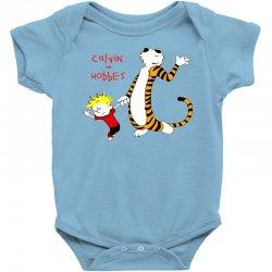 calvin hobbes Baby Bodysuit | Artistshot