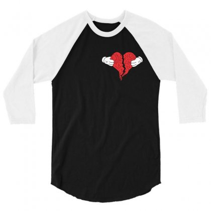 Kanye West 808s And Heartbreak 3/4 Sleeve Shirt Designed By Akin