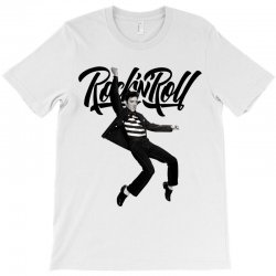 Elvis Presley Rock N Roll T-Shirt   Artistshot