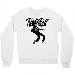 Elvis Presley Rock N Roll Crewneck Sweatshirt   Artistshot