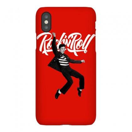 Elvis Presley Rock N Roll Iphonex Case Designed By Sengul