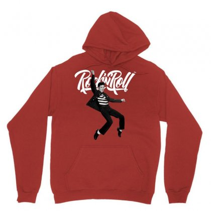 Elvis Presley Rock N Roll Unisex Hoodie Designed By Sengul