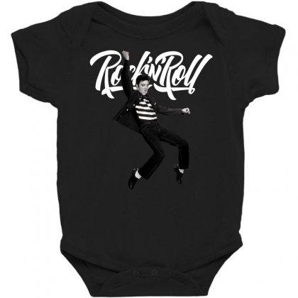 Elvis Presley Rock N Roll Baby Bodysuit Designed By Sengul