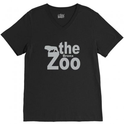 Bronx Zoo V-neck Tee Designed By Yudyud