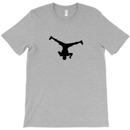 Breakdancer Spin T-shirt Designed By Yudyud