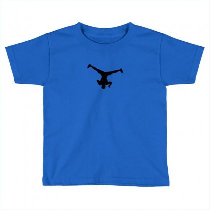 Breakdancer Spin Toddler T-shirt Designed By Yudyud