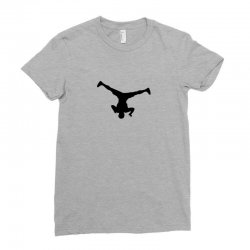 breakdancer spin Ladies Fitted T-Shirt | Artistshot