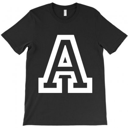 A Initial Name T-shirt Designed By Achmad