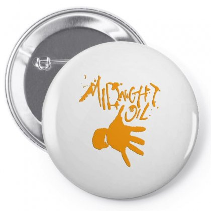 Midnight Oil Pin-back Button Designed By Jasmin3