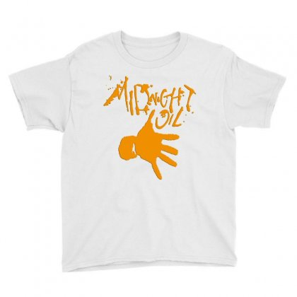 Midnight Oil Youth Tee Designed By Jasmin3