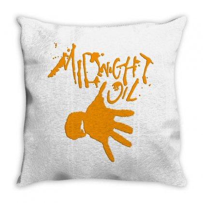 Midnight Oil Throw Pillow Designed By Jasmin3