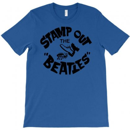 Stamp Out The Beatles T-shirt Designed By Printshirts