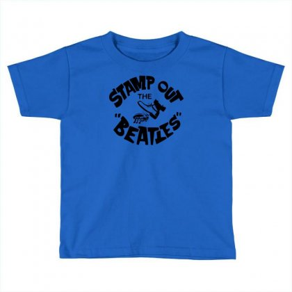 Stamp Out The Beatles Toddler T-shirt Designed By Printshirts
