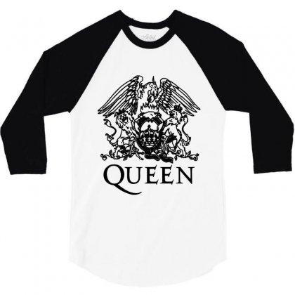Queen 3/4 Sleeve Shirt Designed By Jasmin3