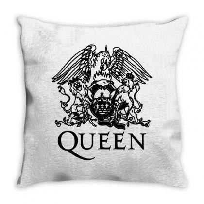 Queen Throw Pillow Designed By Jasmin3