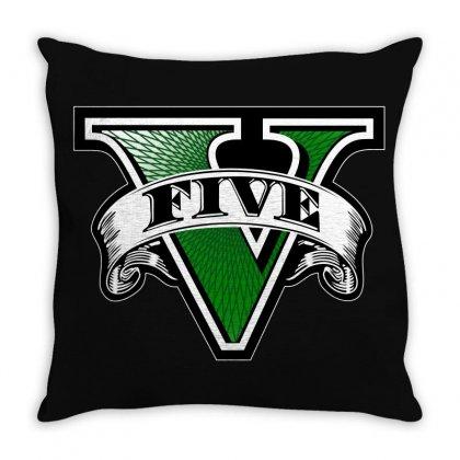 Gta 5 Throw Pillow Designed By Better