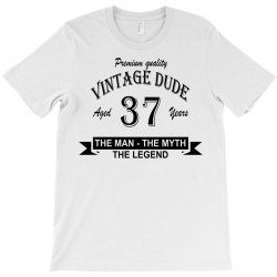 aged 37 years T-Shirt | Artistshot