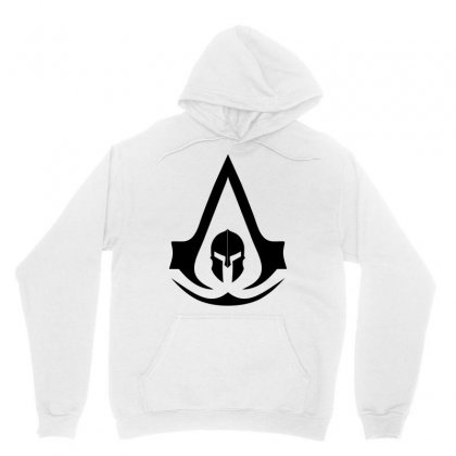 Assassins Creed Odyssey Black Logo Unisex Hoodie Designed By Yellow Star