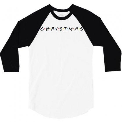 Friends Tv Show Parody Christmas 3/4 Sleeve Shirt Designed By Sengul