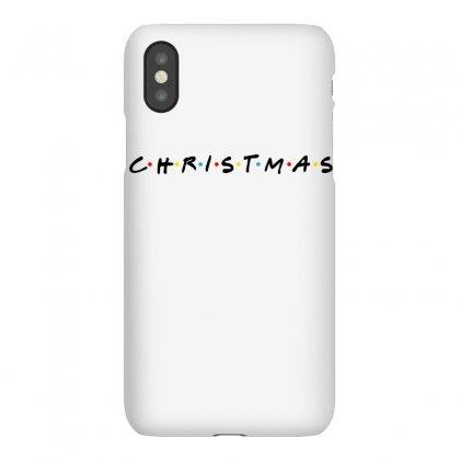 Friends Tv Show Parody Christmas Iphonex Case Designed By Sengul