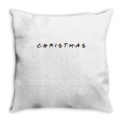 Friends Tv Show Parody Christmas Throw Pillow Designed By Sengul