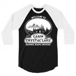 camp crystal lake est 1935 3/4 Sleeve Shirt | Artistshot