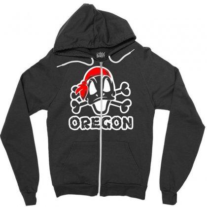 Oregon Ducks Zipper Hoodie Designed By Printshirts