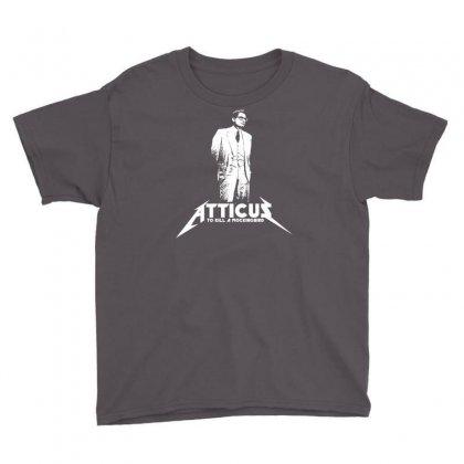 To Kill A Mockingbird Atticus Youth Tee Designed By Printshirts