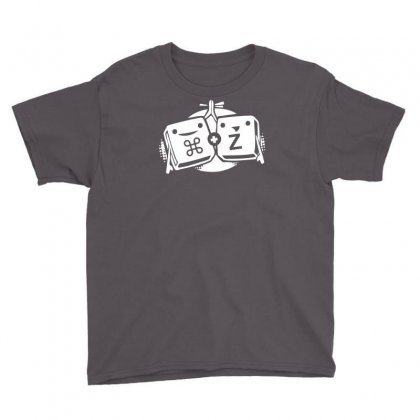 Command Z Undo Delete Youth Tee Designed By Printshirts