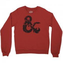 dungeons dragons vintage logo Crewneck Sweatshirt   Artistshot