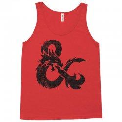 dungeons dragons vintage logo Tank Top   Artistshot