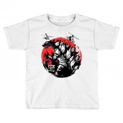 godzilla Toddler T-shirt | Artistshot