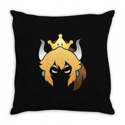bowsette meme Throw Pillow | Artistshot