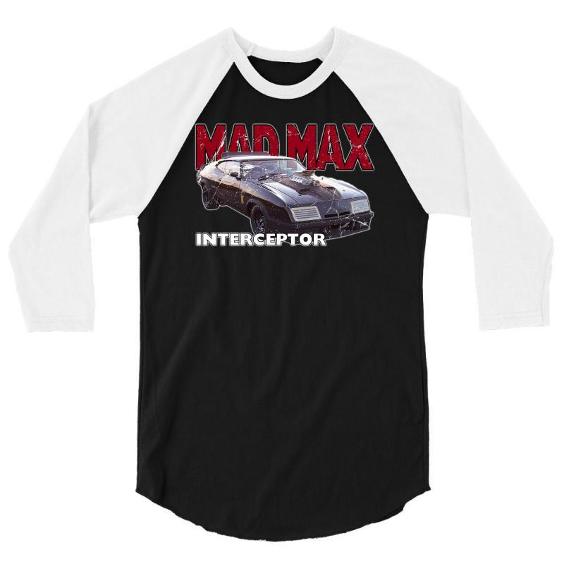 Mad Max Interceptor Ideal Birthday Gift Or Present 3/4 Sleeve Shirt   Artistshot