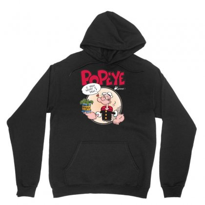 Popeye, Ideal Gift Or Birthday Present Fuuny Unisex Hoodie Designed By Mdk Art