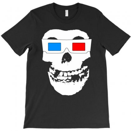Misfits Crimson Ghost 3d T-shirt Designed By Printshirts