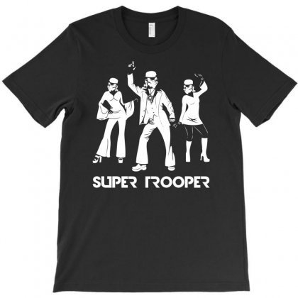 Super Trooper Disco T-shirt Designed By Printshirts