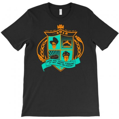 The It Crowd Crest T-shirt Designed By Printshirts