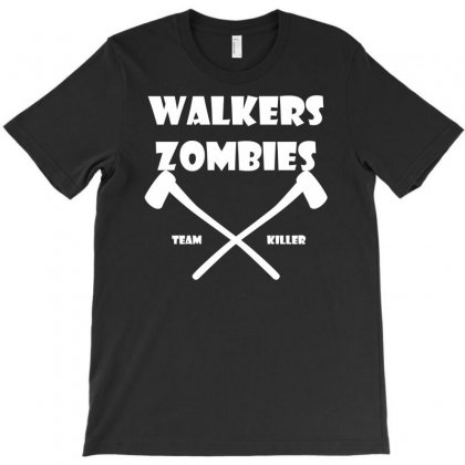 Walkers Zombles T-shirt Designed By Printshirts