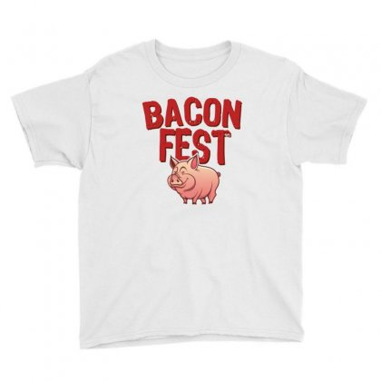 Bacon Fest Youth Tee Designed By Homienice