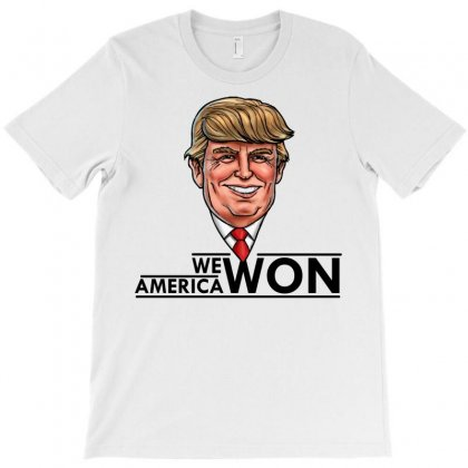 President Trump T-shirt Designed By Designbycommodus
