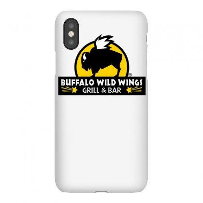 Buffalo Wild Wings Iphonex Case Designed By Mdk Art