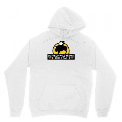 Buffalo Wild Wings Unisex Hoodie Designed By Mdk Art