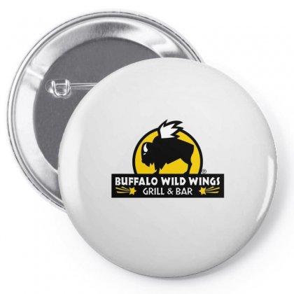 Buffalo Wild Wings Pin-back Button Designed By Mdk Art