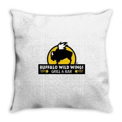 Buffalo Wild Wings Throw Pillow Designed By Mdk Art