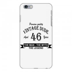 aged 46 years iPhone 6 Plus/6s Plus Case | Artistshot