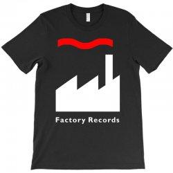 factory records   retro record label   mens music T-Shirt | Artistshot