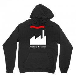 factory records   retro record label   mens music Unisex Hoodie | Artistshot